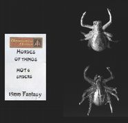 Alternative Armies 15mm Fantasy HOT06 Giant Spiders (x 2 models)